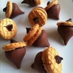 peanut butter acorns