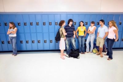 clique teenagers