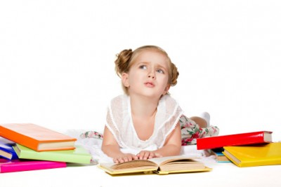 Child with reading difficulties