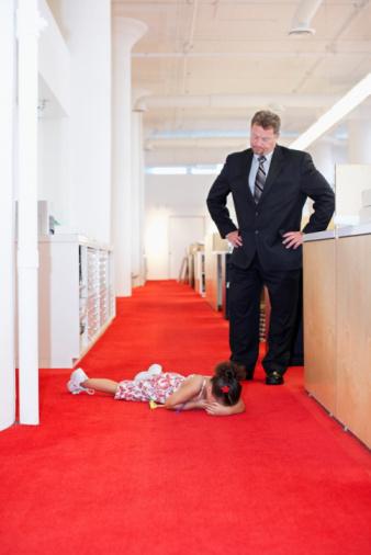 tantrum in public