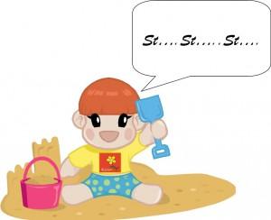 stuttering child