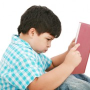 Child having trouble reading