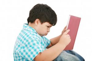 Child having trouble reading