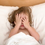 Child having trouble sleeping