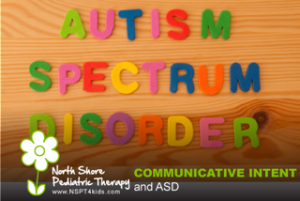 communicative intent and ASD