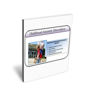 childhood anxiety disorder