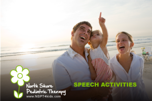 speech and language activities