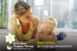 red flags for language development
