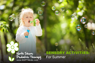 Sensory Activities for Summer