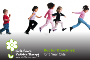 3-Year Doctor Visit Checklist