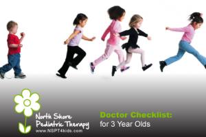 3-Year Doctor Visit Checklist