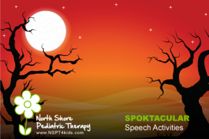 Spooktacular Speech and Language Activities