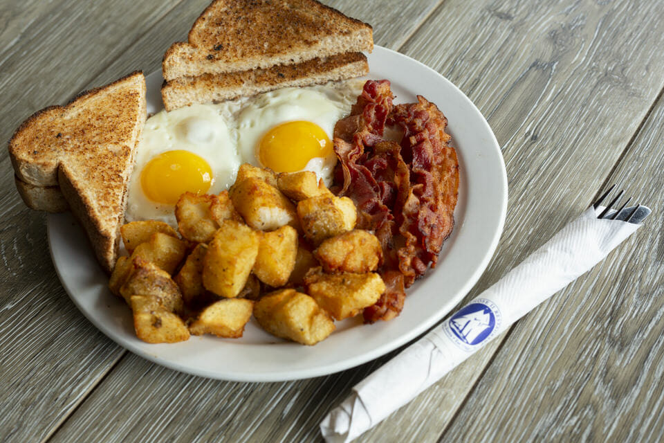 Traditional Bluenose Breakfast