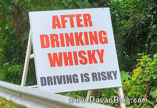 hugot lines davao diversion road after drinking whisky