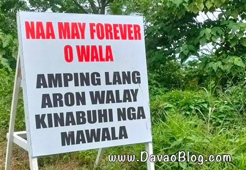 hugot lines davao diversion road naa may forever