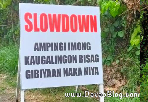 hugot lines davao diversion road slowdown