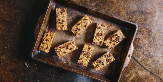 Peanut Butter Banana Granola Bars