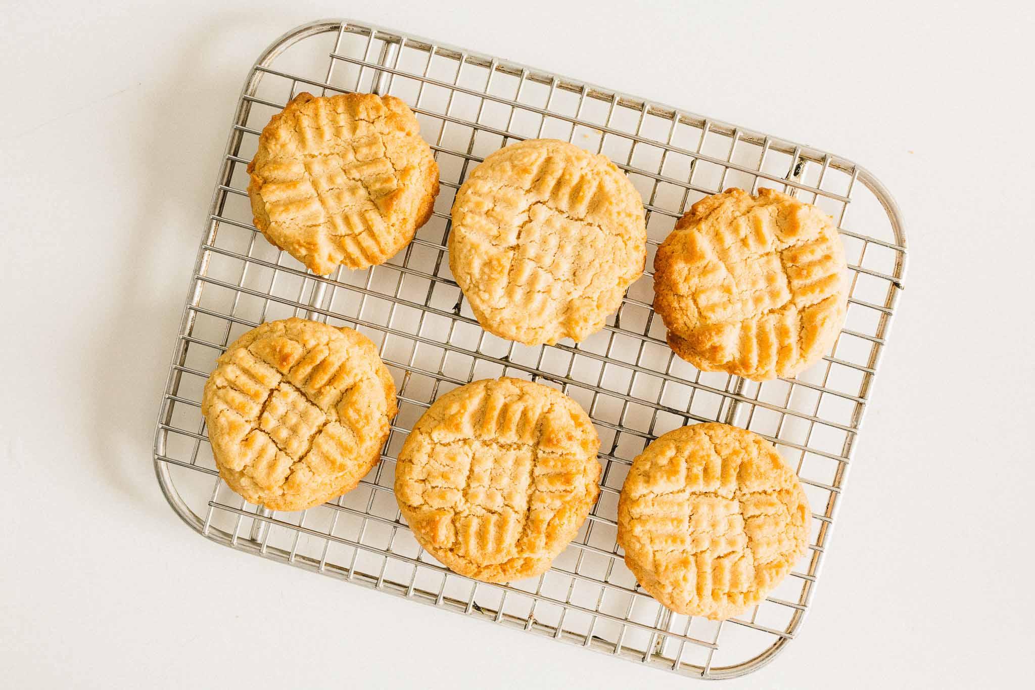 Organic Peanut Butter Cookies Recipe