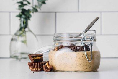 Chocolate Peanut Butter Chia Pudding