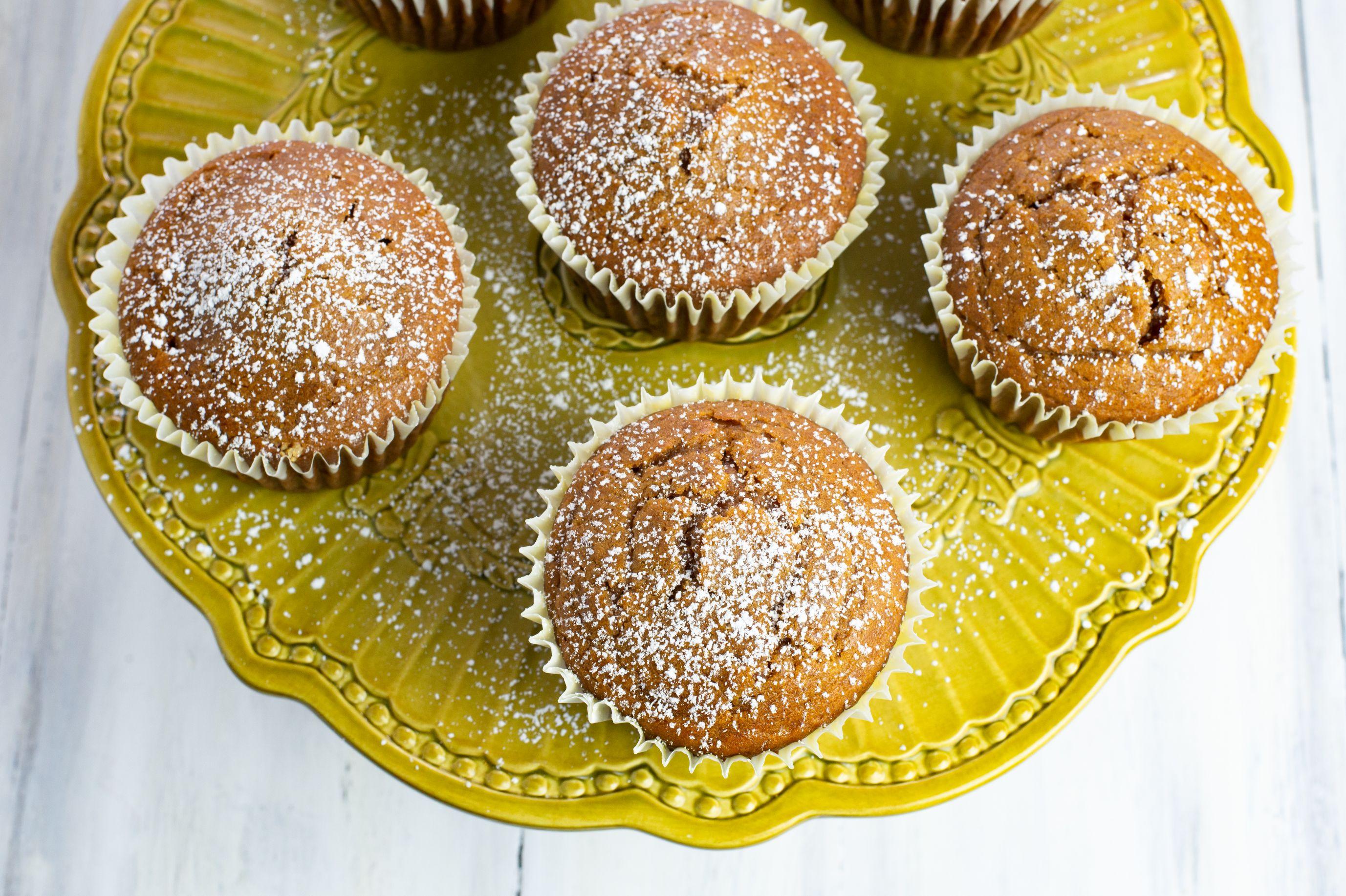Pumpkin Spice Peanut Butter Muffins Recipe