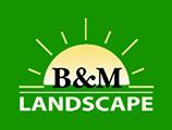 B&M Landscape Logo