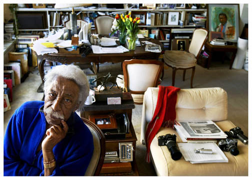 Dolores Johnson – Gordon Parks, NYC, 2004, At Home with Gordon Parks