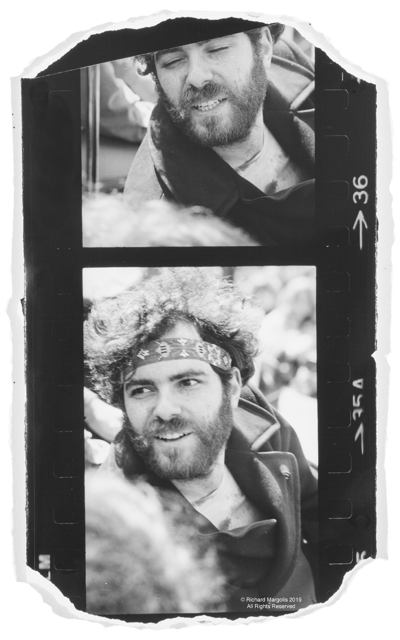 "Richard Margolis – ""Jerry Rubin April 10 1970"""