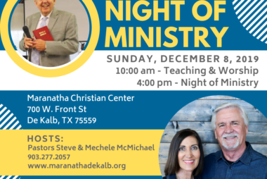 Night of Ministry DeKalb
