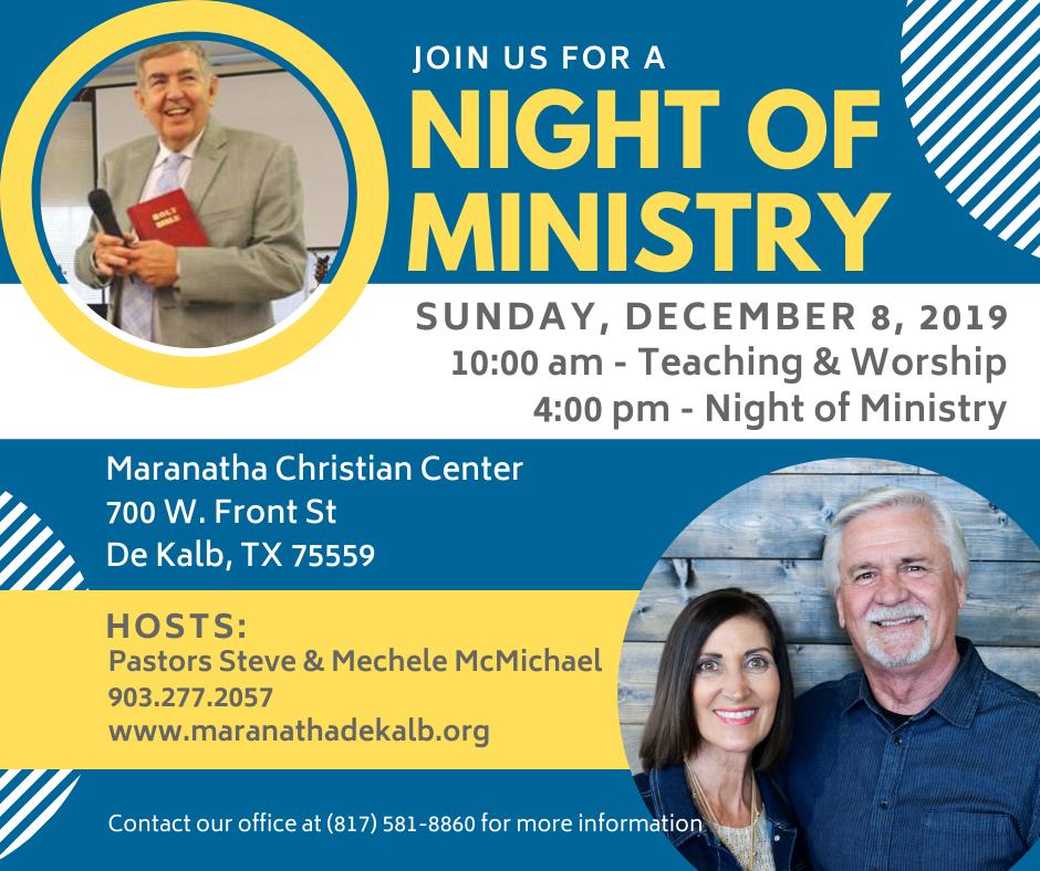 Night of Ministry DeKalb