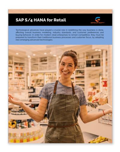 SAP S/4HANA for Retail