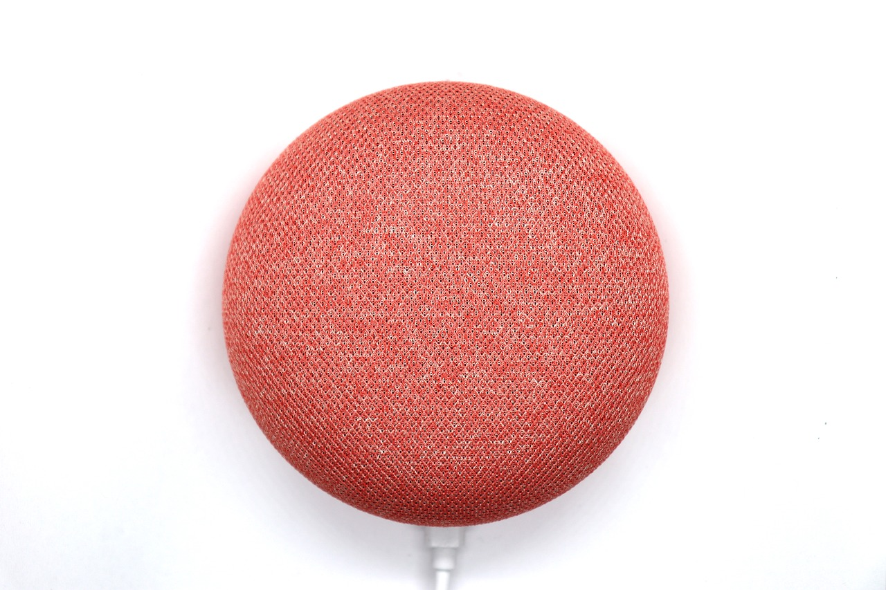 Red Google Home