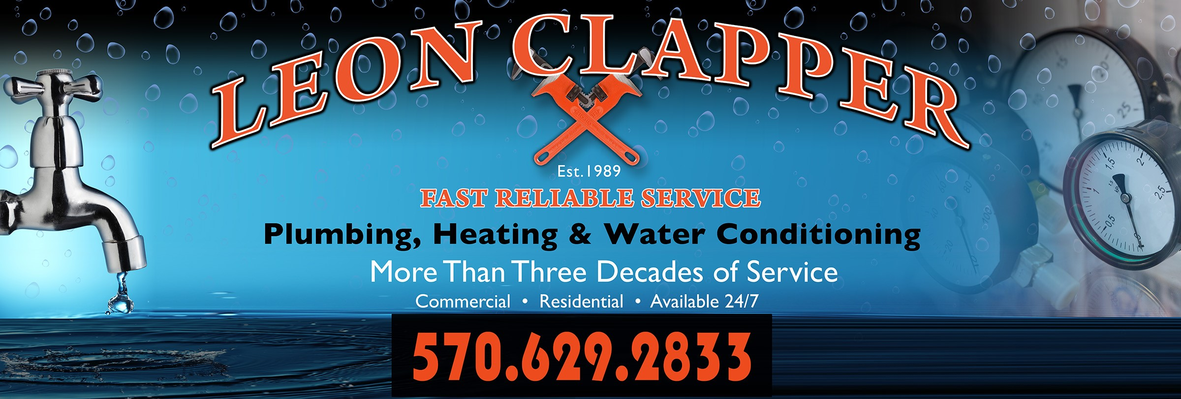 Leon Clapper Plumbing Heating and Water Conditioning