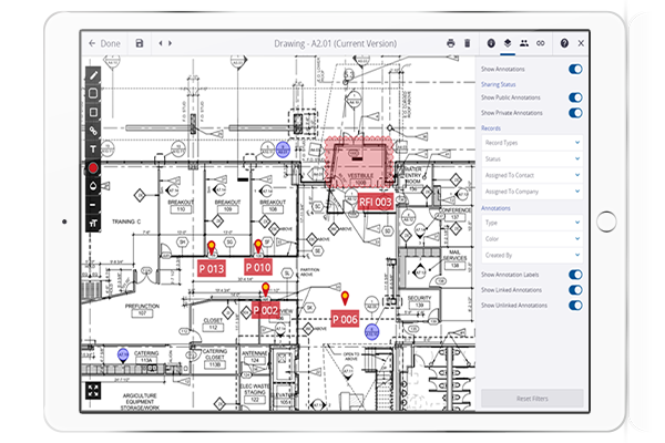 construction project drawing management software
