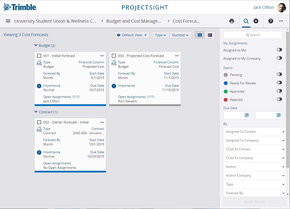 cost control software in construction