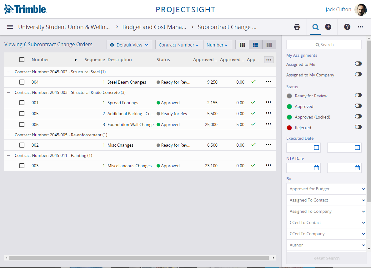 construction cost tracking software for contractors and sub-contractors