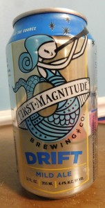 First Magnitudes Drift will soon appear in cans.