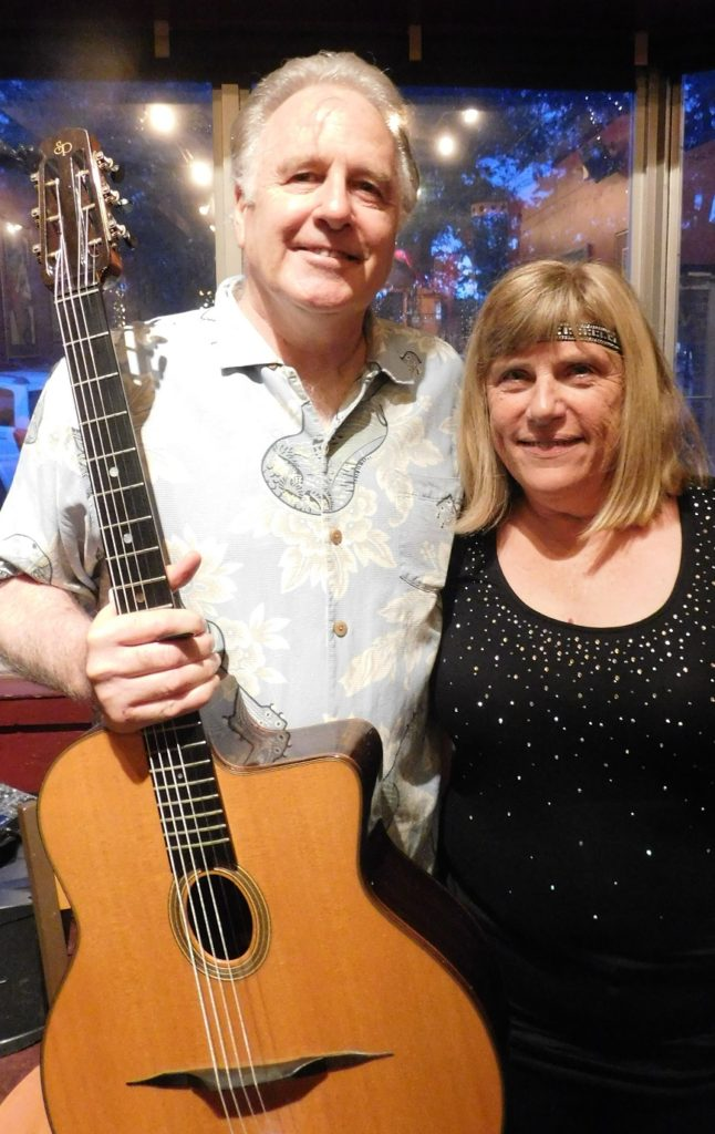 Marty Liquori and Patti Markoch will perform with Hot Club de Ville tonight at Bo Diddley Plaza. (Photo by Gainesville downtown)