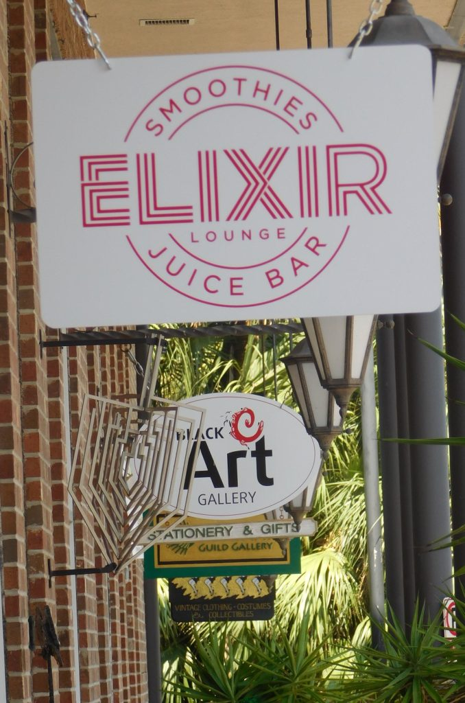 Elixir faces the south side of Union Street Station.