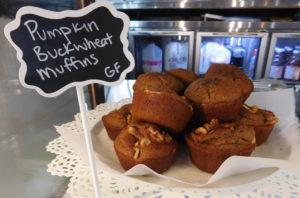 Patticakes Pumpkin Buckwheat Muffins are gluten-free.