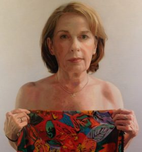 """""""The Dress I Never Made,"""" a painting by Susan Ober."""