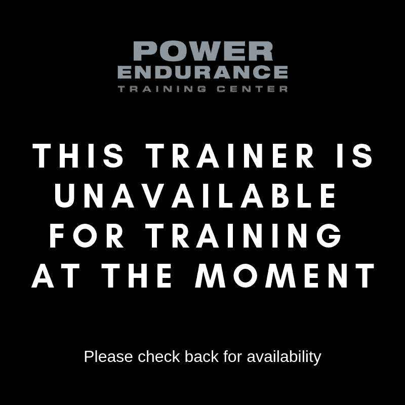 trainer unavailable flyer