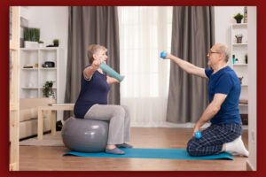 senior home exercise