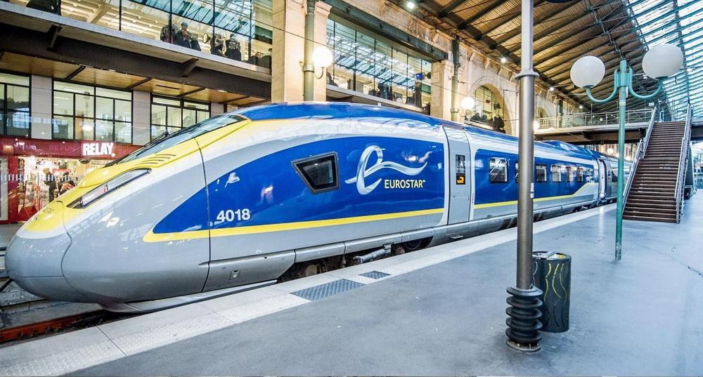 Viajando de Trem pela Europa
