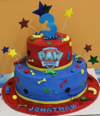 paw-patrol-two-tier-cake-third-birthday-party