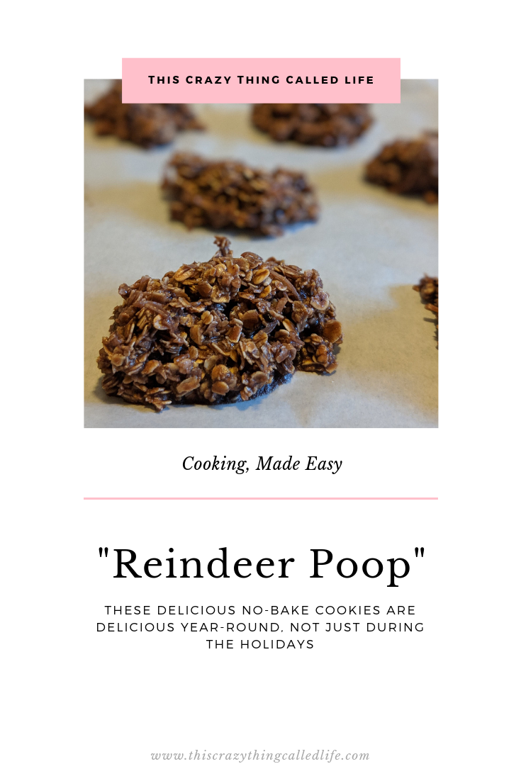 You've Been Naughty, So Here's The Scoop | Reindeer Poop Cookie Recipe