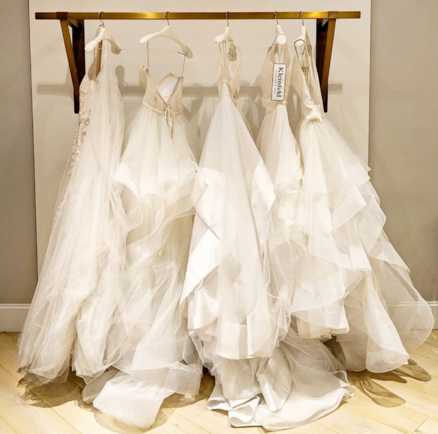 5 things no one tells you about wedding dress shopping