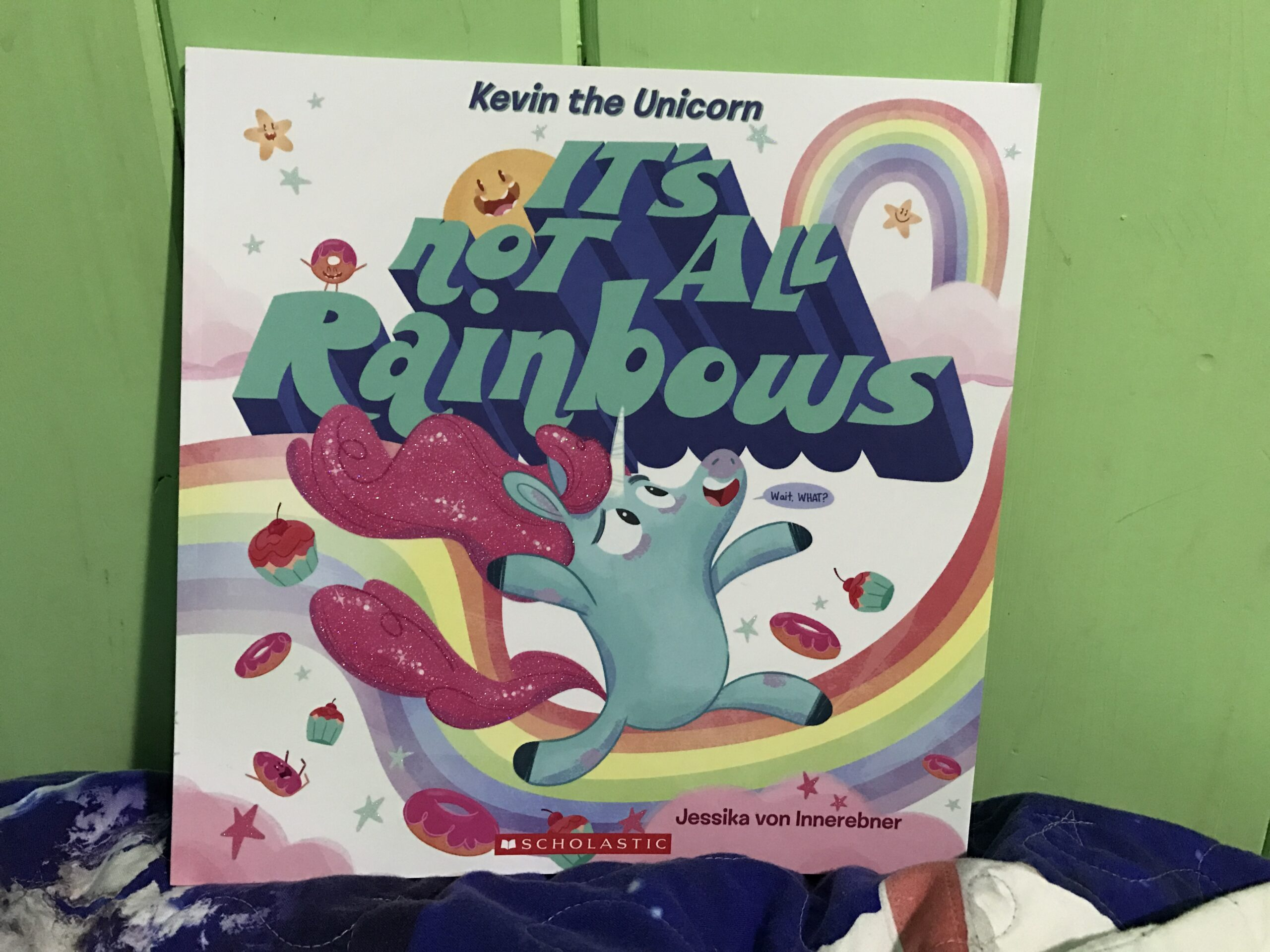 """Picture of """"Kevin the Unicorn: It's Not All Rainbows"""""""