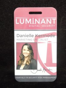 ID badge - sublimated