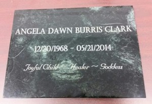 Tombstone Engraved