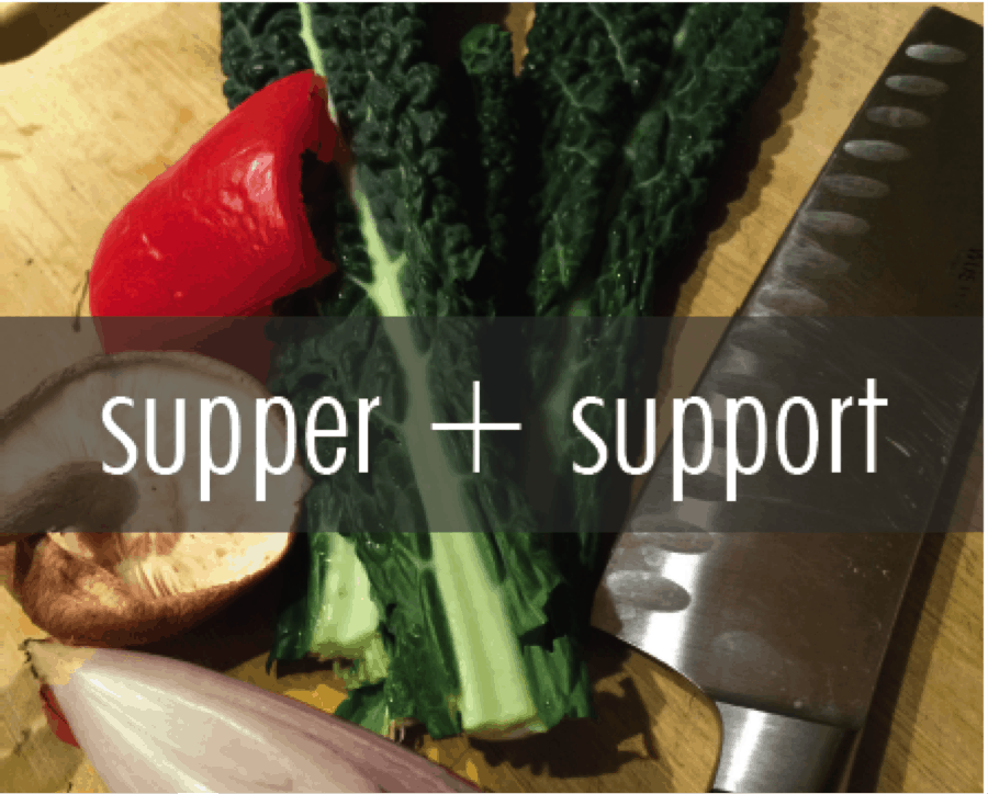 supper + support